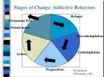stages of change addictive behaviors