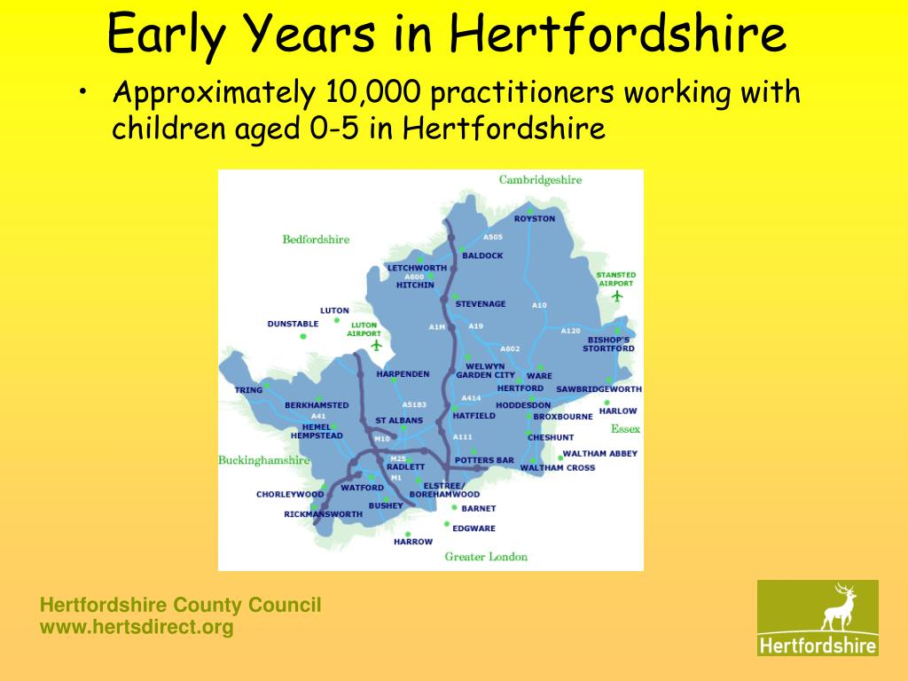 early years in hertfordshire l.