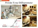 powder x ray diffractometer
