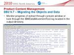 product content management db2 9 7 migrating the objects and data33