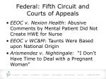 federal fifth circuit and courts of appeals12