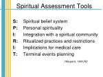 spiritual assessment tools30