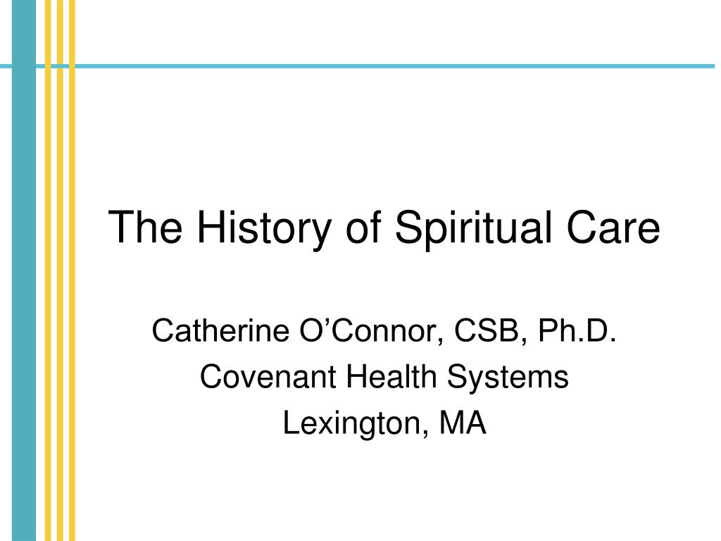 the history of spiritual care l.