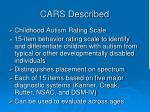cars described