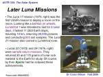 astr 330 the solar system25