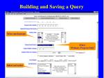 building and saving a query60