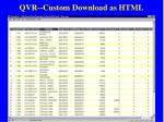 qvr custom download as html54