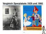 vergleich sparplakate 1929 und 1960