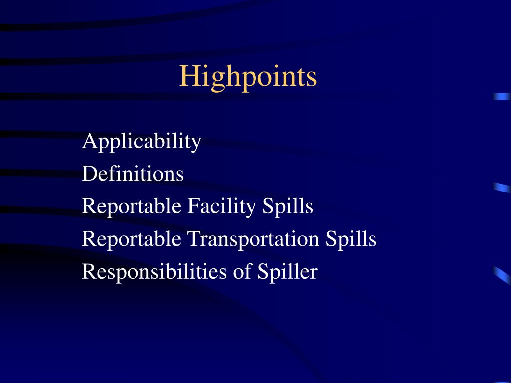 Highpoints