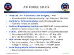 air force study
