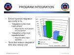 program integration