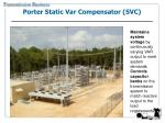 porter static var compensator svc