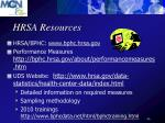hrsa resources