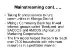 mainstreaming cont28