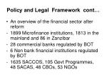 policy and legal framework cont12