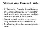 policy and legal framework cont13