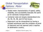 global transportation options motor
