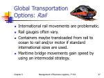 global transportation options rail