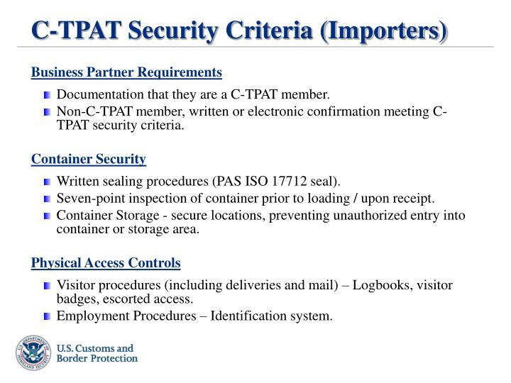 ppt - u.s. customs and border protection customs-trade partnership ...