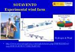 sotavento experimental wind farm