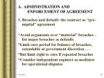 a administration and enforcement of agreement43