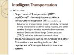 intelligent transportation4