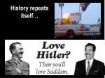 history repeats itself