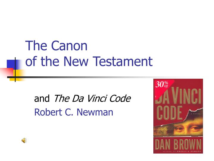 the canon of the new testament n.