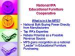 national ipa educational furniture cooperative