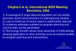 cleghorn et al international aids meeting barcelona 2002