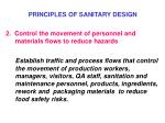 principles of sanitary design1