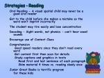 strategies reading