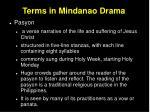 terms in mindanao drama23