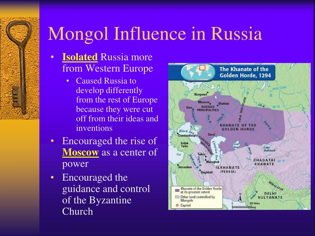 the mongol occupation of russia as the cause for russias disproportionate growth