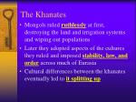 the khanates22