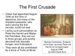 the first crusade11
