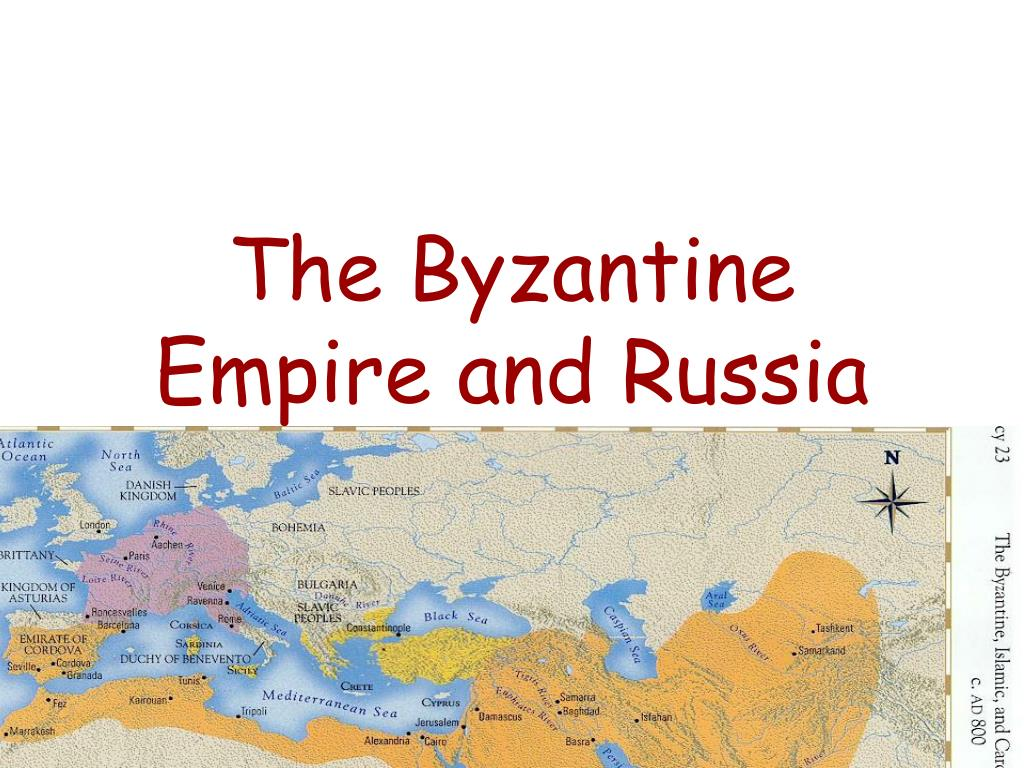 the byzantine empire and russia l.