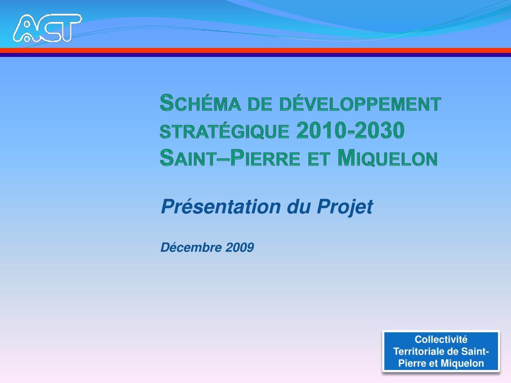 Schéma de développement stratégique 2010-2030