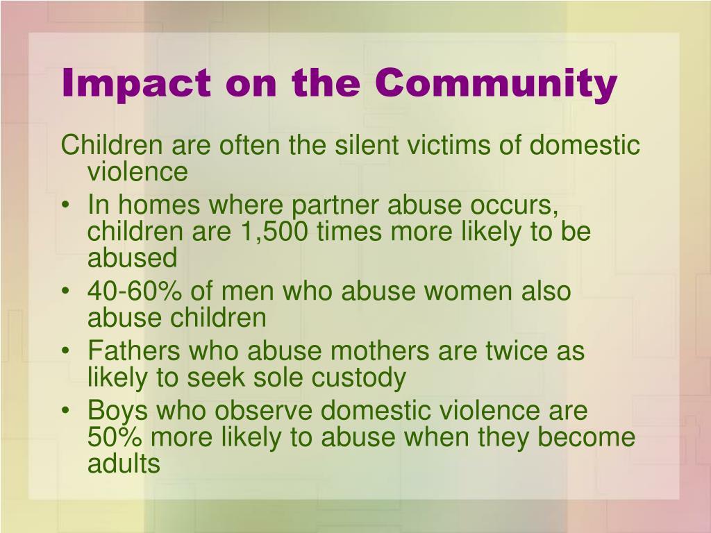 Impact on the Community