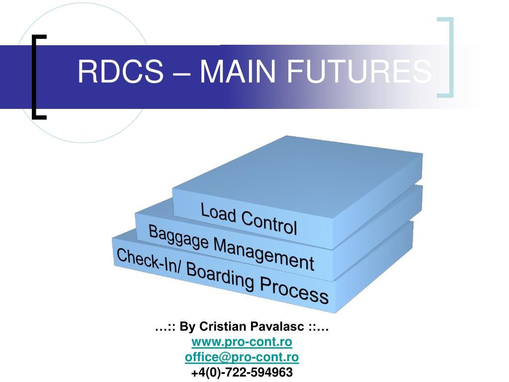 RDCS – MAIN FUTURES