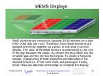 mems displays43