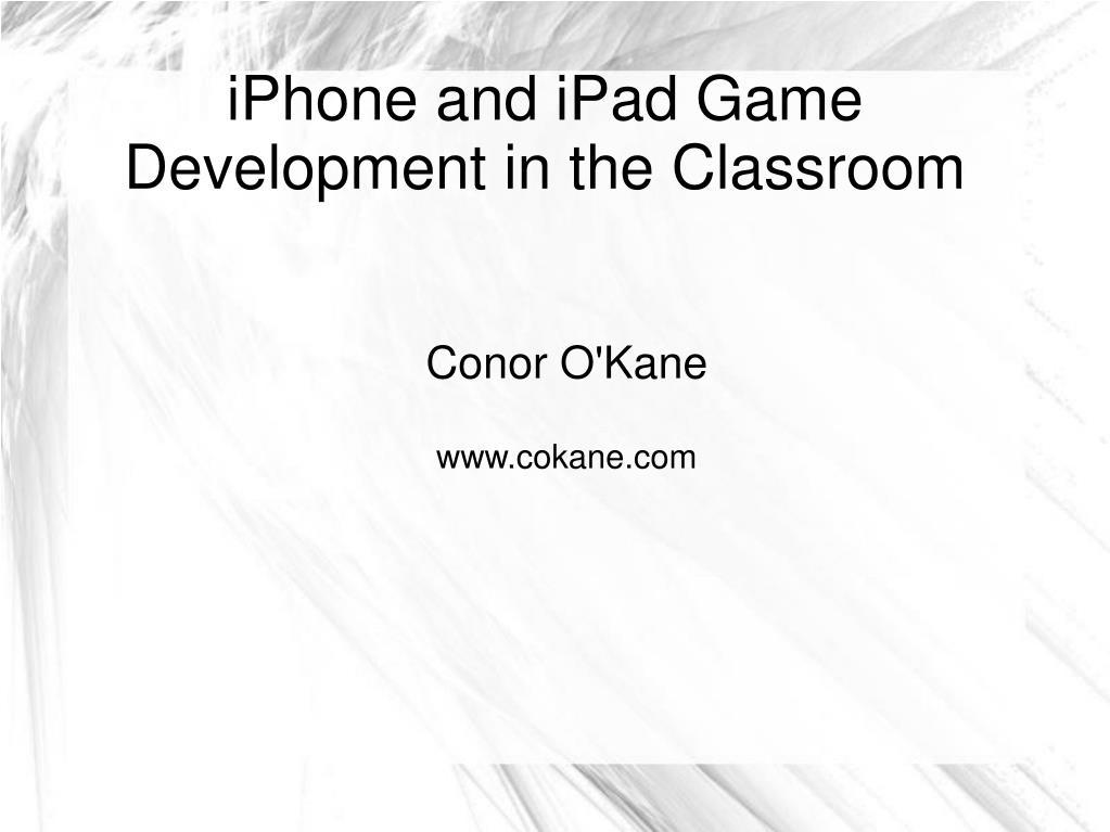 conor o kane www cokane com