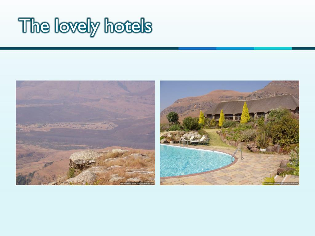 The lovely hotels