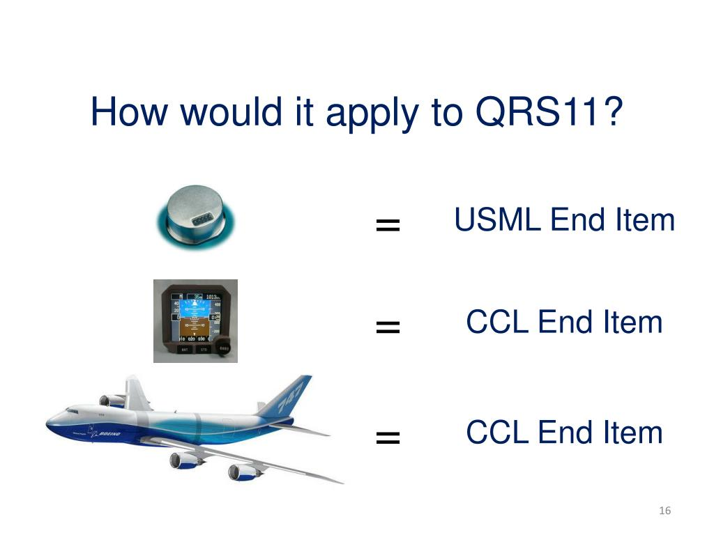 How would it apply to QRS11?