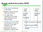 remote method invocation rmi