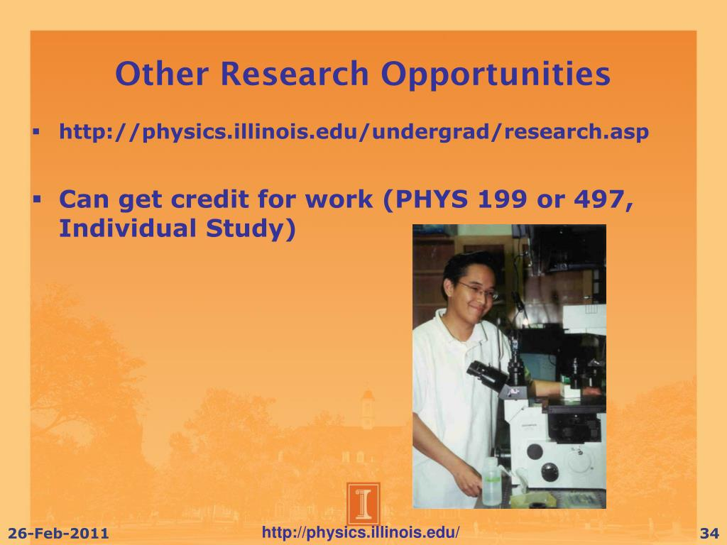 Other Research Opportunities