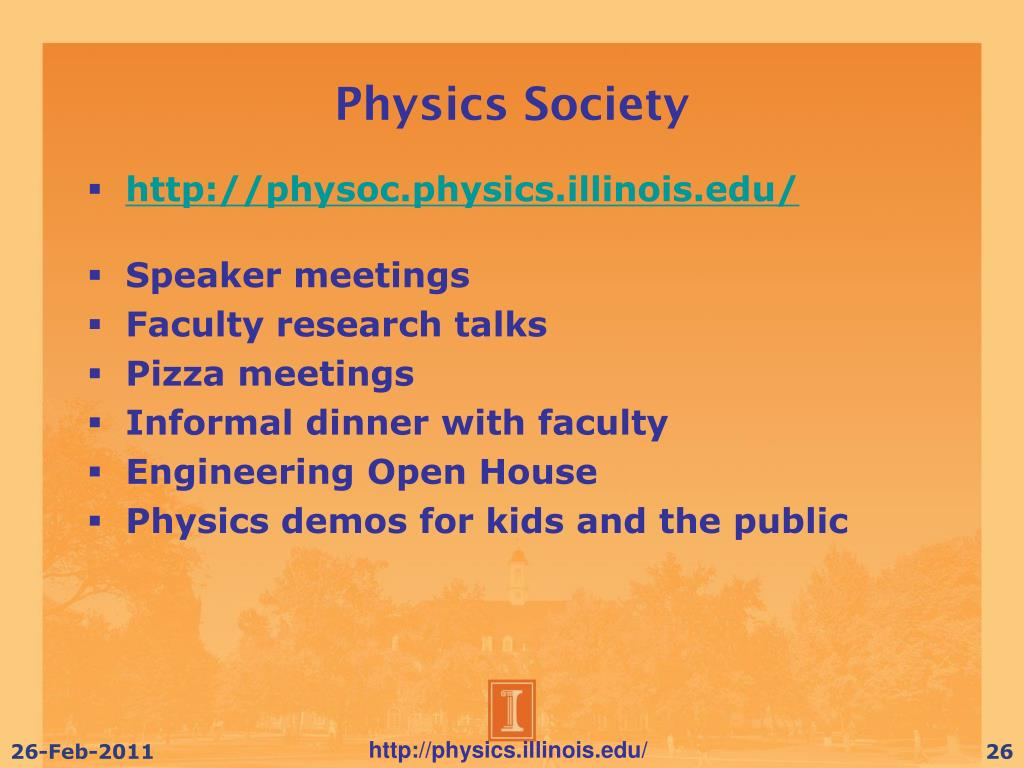 Physics Society