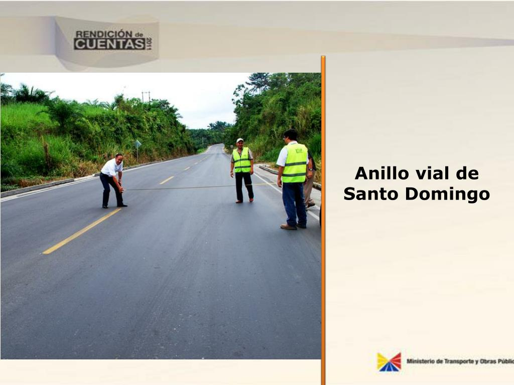 Anillo vial de Santo Domingo