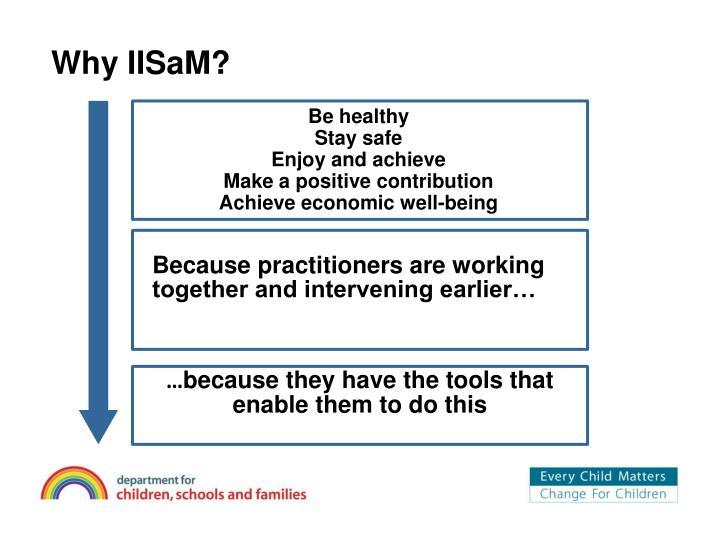 Why iisam