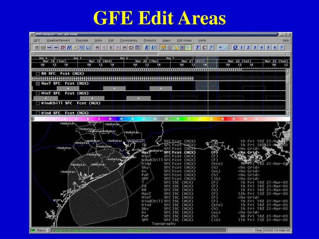 GFE Edit Areas
